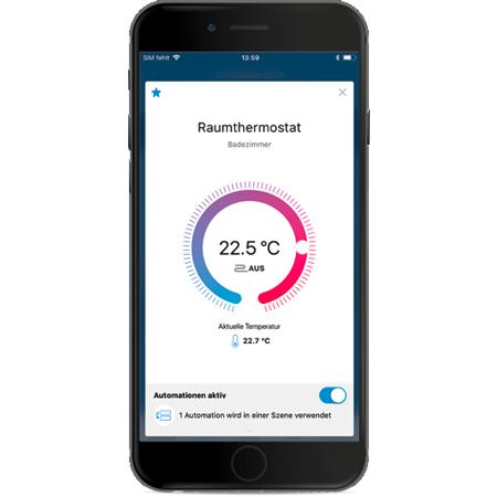 Rademacher HomePilot-App auf Smartphone